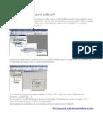 Formularios Userform en EXCEL