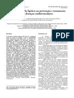 4.2 - Estatinas x Ácido Lipóico Na Prevenção e Tratamento Das Doenças Cardiovasculares