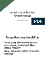 Terapi Modalitas Dan Komplementer