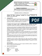TDR Reformulacion RIEGO Curipampa FINAL
