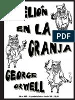 George ORWELL _Rebelion en La Granja (2a Ed)