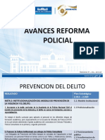 Avances Reforma Policial