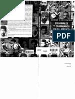 Criminales y Ciudadanos en El Mexico Moderno