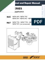 Iveco Nef n45 n67 g Drive Eu 2002 88 Ce Service Manual Workshop Manual Free