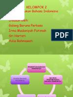 Kedudukan b.indonesia