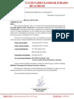 Invitacion a Chorrillos 106