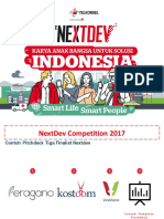 Contoh Template PitchDeck NextDev Competition 2017.PDF