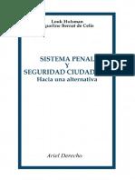 Hulsman, Louk - Sistema penal y seguridad ciudadana - 1984.pdf