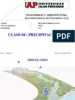 03042016 CLASE 4 Precipitacion I
