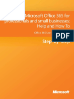 Microsoft Office 365 for professionals and small businesses - Help and How To.pdf