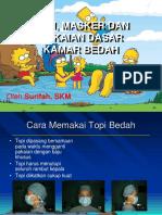 1. TOPI, MASKER , & PAKAIAN DASAR KAMAR BEDAH - Hj. SURIFAH, SKM.pdf