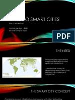 Cities to Smart Cities