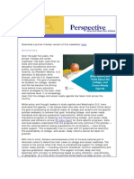 August Perspective Newsletter