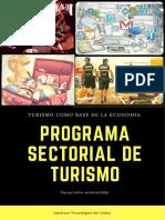 Programa Sectorial de Turismo