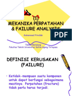 Failure Analysis Pertemuan Ke 1