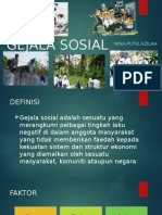 GEJALA SOSIAL