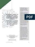 Las Prácticas Médicas y La Biología Como Ciencia Paradigmas, Asimilación y Domesticación Social en Mexico