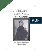 The Life of St. Gemma INTRO