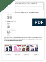 3avaliac3a7c3a3o-4c2ba-ano-matemc3a1tica.doc