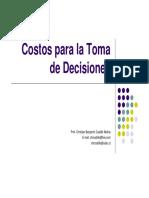 3-CTD U2 Costos Relevantes Para La Toma de Decisiones Parte Unica