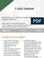 Audit Cuci Tangan WHO