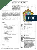 Pía Sociedad de San Francisco de Sales - Wikipedia, La Enciclopedia Libre