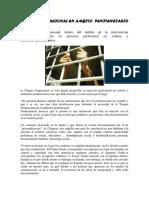 Terapia Ocupacional en Ambiente Penitenciario