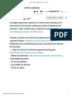 (1) Jaboneras de Cemento Caseras - YouTube