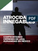 Atrocidadess Innegables Mexico 2016 Resumen Ejecutivo