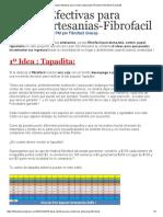 3 Ideas Efectivas para vender artesanias-Fibrofacil _ Fibrofacil Gracop ®