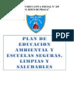 Plan de Educación Ambiental y Escuelas Limpias y Saludables