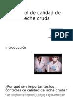 Control de Calidad de Leche Cruda((Unsaved-306109123558326992))