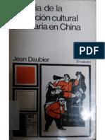 Jean Daubier - Historia de La Revolución Cultural Proletaria en China