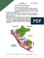 Tema 5. El Territorio Peruano
