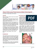 Terjemahan Infeksi Odontogen Ke Orbita 2012