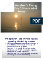 Meeting Maryland's Energy Needs With Offshore Wind Power