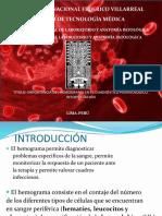 IMPORTANCIA DEL HEMOGRAMA EN EL DIAGNOSTICO HEMATOLOGICO. I.pptx