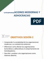 2. Organizaciones Modernas