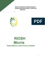 Reglamento Interno de Higiene y Seguridad Actualizado MORRIS IMPORTADORA