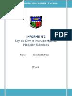 2do Informe Circuitos....