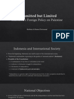 Palestine Indonesia 19 August 2017