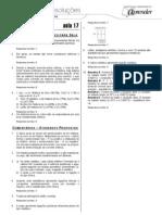 Química - Caderno de Resoluções - Apostila Volume 4 - Pré-Universitário - quim3 aula17