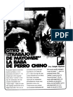 La Baba de Perro Chino Mayombe