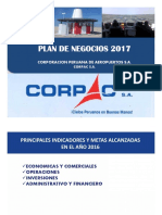 Plan Negocios Corpac 2016-2017