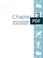 Animals Chapter 3 Ethical Issues Raised by Animal Research