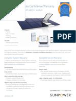 New (2017) SunPower Warranty Overview (w comparison LG, Panasonic)