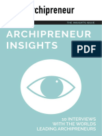 Archipreneur Insights Guide
