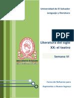 Lenguaje y Literatura - Literatura Del Siglo XX El Teatro PDF