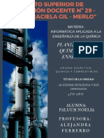 Petroleo Plan de Clases