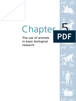 Animals Chapter 5 the Use of Animals in Basic Biological Research